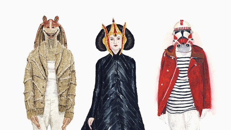 Darth Vader And Jar Jar Binks Try On Spring's Hottest Fashions | Serendipity Café | Scoop.it