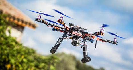 Technologie : Les drones au service des agents immobiliers | immobilier | Scoop.it