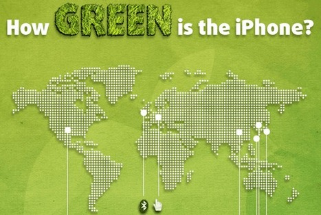 How Green is the iPhone? ★ Social Media Graphics | infographies | Scoop.it