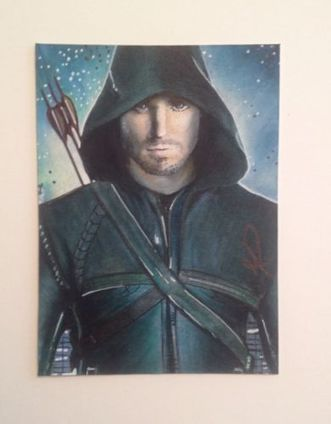 Arrow fan art. | Science Fiction | Scoop.it