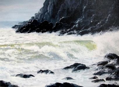 Artwork: Rough Seas - Open House Art | Art - Crafts - Design | Scoop.it