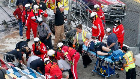 Everything We Know About Saturday's Horrific NASCAR Crash At Daytona | Sports Facility Managment. Jason Marino ID 4031004 | Scoop.it