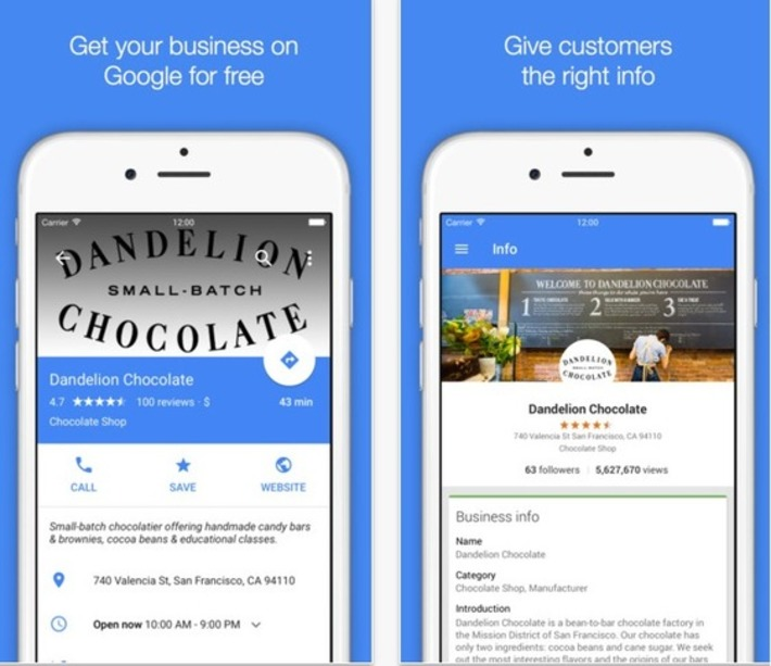 "L'application Google My Business s'affiche désormais en Material Design | Veille Techno et Informatique ""AutreMent"" 