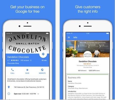 L'application Google My Business s'affiche désormais en Material Design - #Arobasenet.com | Référencement internet | Scoop.it