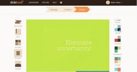Slidebean, herramienta para hacer presentaciones, sale del beta y presenta novedades | Herramientas digitales | Scoop.it
