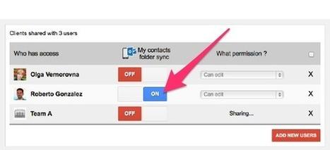 Contacts partagés pour Gmail synchronise automatiquement vos données avec Outlook et vos appareils mobiles - Le blog Econsulting | gestion temps, outlook, lotus notes | Scoop.it