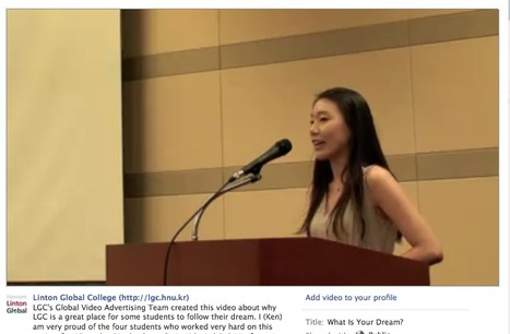 My Students' Video - Via Our Facebook Page | An Eye on New Media | Scoop.it