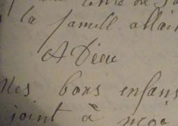 Les lettres d'adieux de nos aïeux | Généalogie facile | Histoire Familiale | Scoop.it