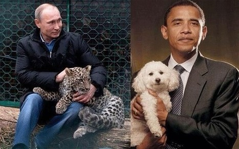 Russian deputy PM mocks Obama by tweeting 'unmanly' photo of president - Telegraph | Doing Digital Diplomacy | Scoop.it