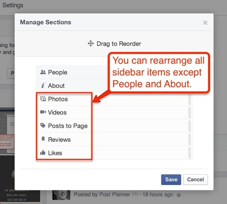 How to change the order of your Facebook Page tabs [new for 2014] - | Facebook Tabs | Scoop.it