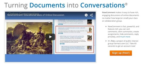 NowComment - Turning Documents into Conversations | About Content Curation | Scoop.it