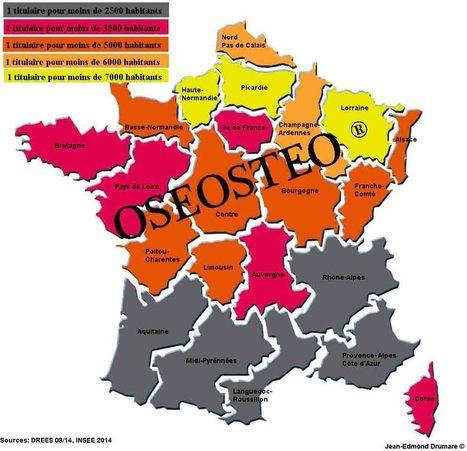 Enquête démographique ostéopathe - Août 2014 | OSEOstéo | osteopathie | Scoop.it