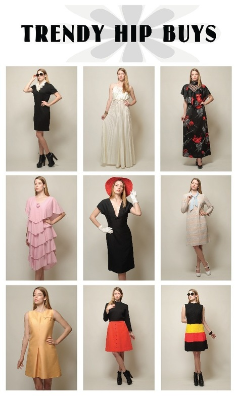 5 questions with Orada from TrendyHipBuysVintage on etsy | Vintage Fashionista | Scoop.it