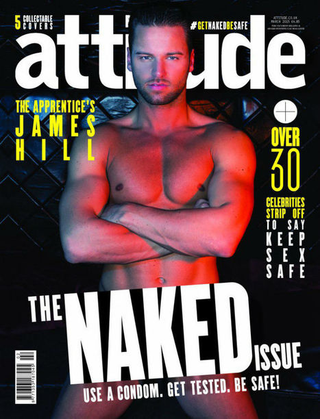James Hill strips off for the Attitude Naked Issue | Celebrity Hunks | Scoop.it