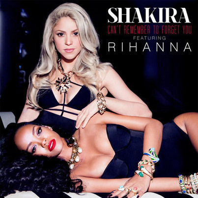Single Cover • SHAKIRA feat. RIHANNA • CAN'T REMEMBER TO FORGET YOU | CHRONYX.be : we like it sexy too ! | Scoop.it