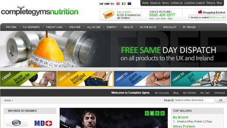 Health & Fitness Website Design with PHP | Gym and Fitness Website Design | Portfolio | Scoop.it