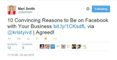 10 Convincing Reasons to Be on Facebook with Your Business | It's Virtually Done | Social Media Is Dead, NOT | Scoop.it