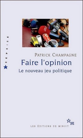 "Nouvelle édition de ""Faire l'opinion"" 