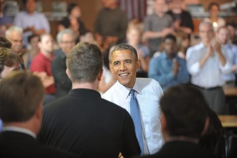 Obama meets with Pittsburgh entrepreneurs to promote American manufacturing   Renaissance de l''industrie américaine   Scoop.it