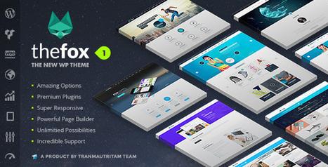 TheFox | Responsive Multi-Purpose WordPress Theme Download | ThemeForest | Best Wordpress Themes | Scoop.it