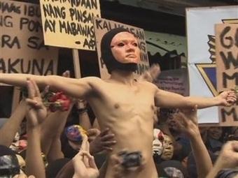 Filipijnse studenten gaan naakt voor het klimaat - De Standaard | MaCuSa | Scoop.it