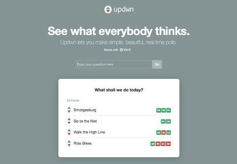 Tres sencillas herramientas para crear encuestas a través de Internet | Estrategias de Gestión del Conocimiento e Innovación Educativa: | Scoop.it