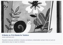 [à lire] La lecture numérique est-elle du temps d'écran ou de lecture ?   Le numérique jeunesse   Must Read articles: Apps and eBooks for kids   Scoop.it