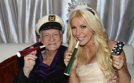 Hugh Hefner's latest marriage: don't hate the player, hate the game... | Escorts | Scoop.it