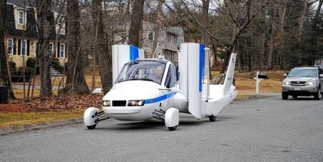 Flying car soaring in the air in test flight - New York Daily News | Climate & Clean Air Watch | Scoop.it