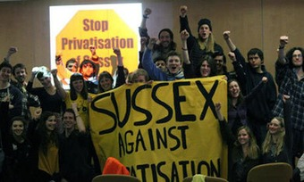 Students occupy Sussex University in protest against privatisation - The Guardian | real utopias | Scoop.it