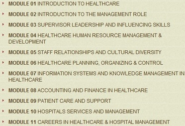 Advanced Postgraduate Diploma in Healthcare & Hospital Management | James Lind Institute | Scoop.it