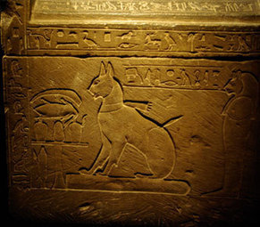 Feline Forever: Mythology - cats in Ancient Egypt | Ancient Cultures | Scoop.it