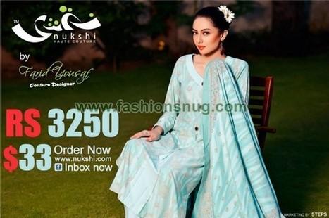 Nukshi Fall Winter Collection 2013-2014 For Women   Esta de moda, revista on-line de moda y tendencias   Scoop.it
