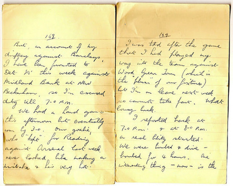 London War Diary: Saturday 8th March 1941.   London War Diary. Original written pages. 1940   Scoop.it