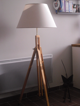 [Coup de ♥] Lampe de salon par 31pierre sur le #CDB | Best of coin des bricoleurs | Scoop.it