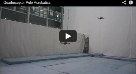Cuadricópteros haciendo equilibrios con un palo (probablemente mejor que tú) | tecno4 | Scoop.it