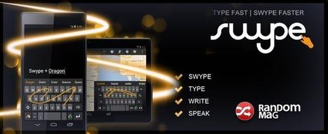 Swype - Las mejores aplicaciones para Android | Random Mag | Random Magazine | Scoop.it