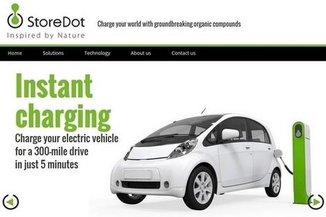 StoreDot : recharger sa voiture électrique en 5 minutes | Efficycle | Scoop.it
