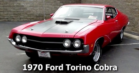 Best Muscle Cars | 1970 Ford Torino Cobra 429 SCJ | Muscle Cars of America | Scoop.it