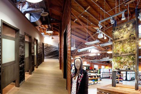 585 Boardriders flagship store for Quiksilver by Verdego Design, Venice - CA | Mon Oeil | Scoop.it