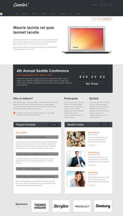Eventor WordPress Event planner Theme | eventor | Scoop.it
