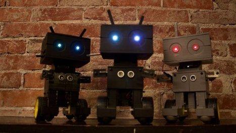 Tiny Open Source Robot | FabLab - DIY - 3D printing- Maker | Scoop.it