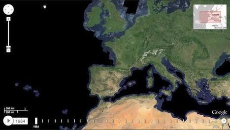 Google muestra la evolución del planeta en un mapa interactivo. La imagen de la semana | Recursos para el aula | Scoop.it