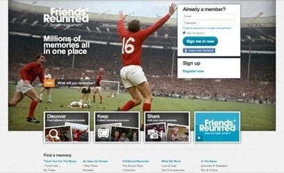 Friends Reunited relaunches | News | Design Week | Corporate Identity | Scoop.it