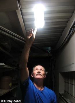 Watt a bright idea! Brazilian mechanic uses plastic water bottles and bleach to create LIGHT - illuminating 1million homes