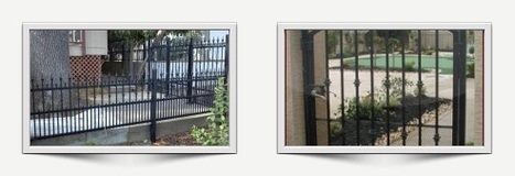 Iron Fencing – Custom Design and Quality Guaranteed | Ornamental Iron | Wrought iron fencing | Driveway gate | Scoop.it
