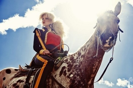 [Fashion Editorial] Maria Kirienko : The Heart of the Valleys | PegaseBuzz | Photo-graphie | Scoop.it