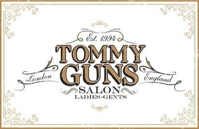 Vivid creates branding for Tommy Guns new salon | News | Design Week | Corporate Identity | Scoop.it