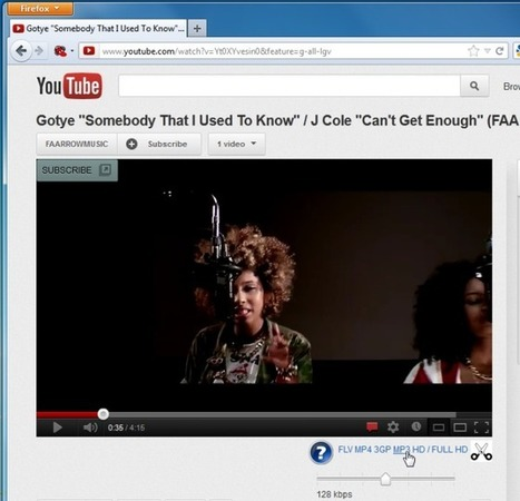 Download YouTube Videos As MP3/MP4/FLV With Defined Bitrate [Firefox] | Time to Learn | Scoop.it