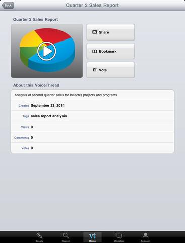 App Store - VoiceThread   Tablets in de klas   Scoop.it
